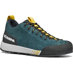 Scarpa Gecko Shoes Men, petrol/mustard